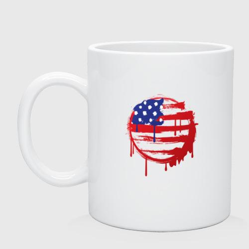 Кружка керамическая Америка