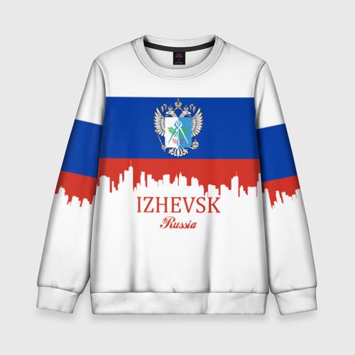 Детский свитшот 3D IZHEVSK (Ижевск)