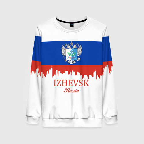 Женский свитшот 3D IZHEVSK (Ижевск)