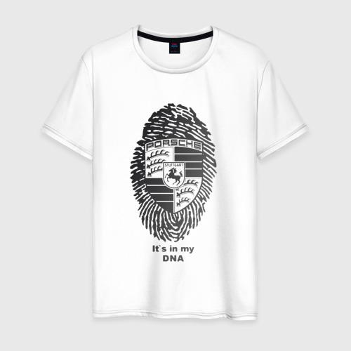 Мужская футболка хлопок Porsche it's in my DNA