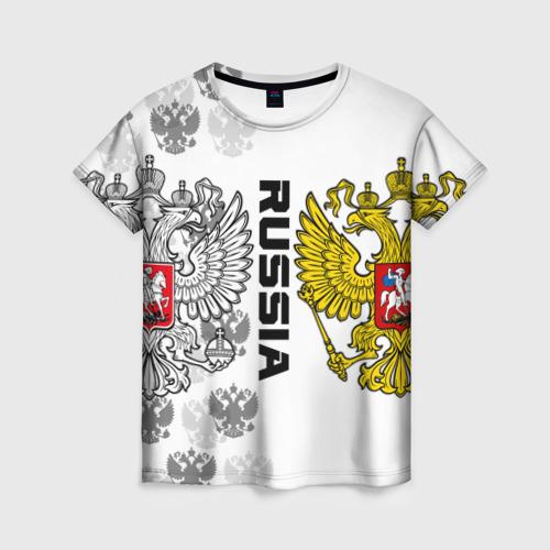 Женская футболка 3D Russia
