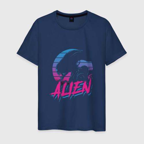 Мужская футболка хлопок Alien 80