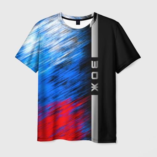 Мужская футболка 3D ЗОЖ