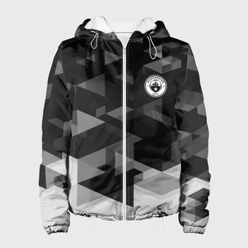 Женская куртка 3D Manchester city Geometry Sport
