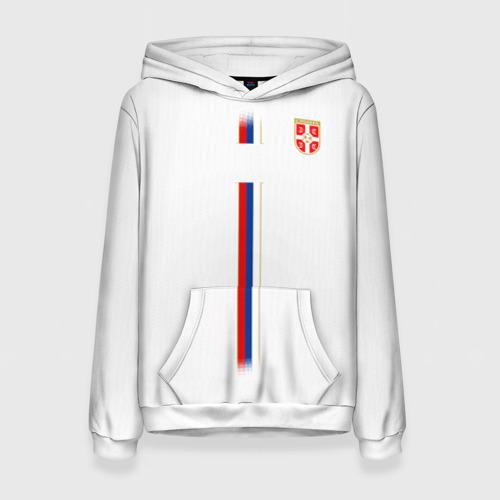 Женская толстовка 3D Сборная Сербии WC 2018