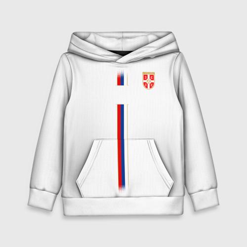 Детская толстовка 3D Сборная Сербии WC 2018