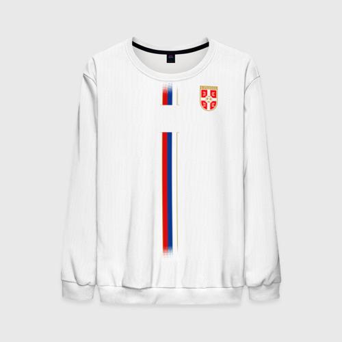 Мужской свитшот 3D Сборная Сербии WC 2018
