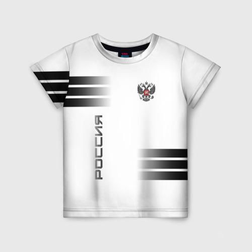 Детская футболка 3D Россия