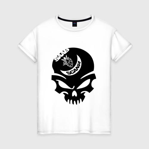 Женская футболка хлопок Saab