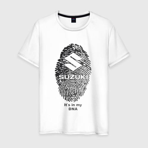 Мужская футболка хлопок Suzuki  it's in my DNA