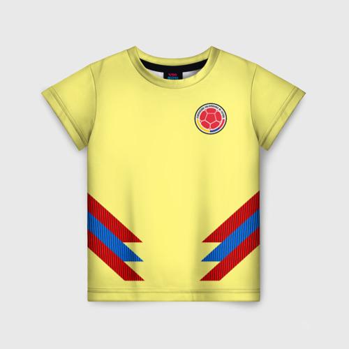 Детская футболка 3D Форма Колумбии
