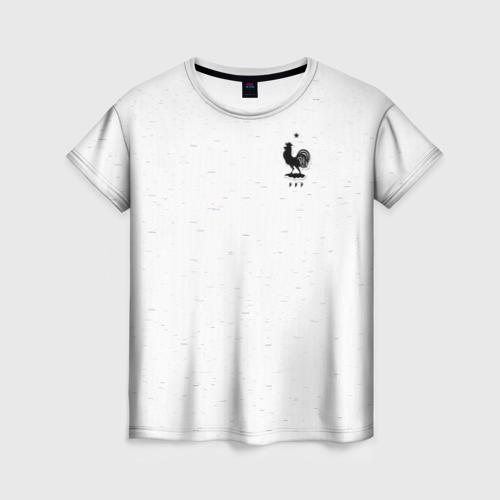 Женская футболка 3D France WC 2018