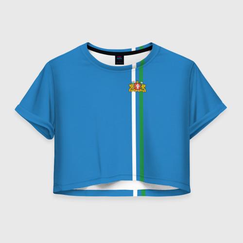 Женская футболка Crop-top 3D Свердловская область