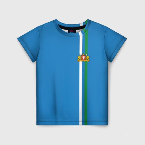Детская футболка 3D Свердловская область