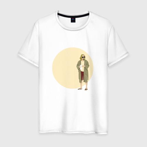 Мужская футболка хлопок Большой Лебовски