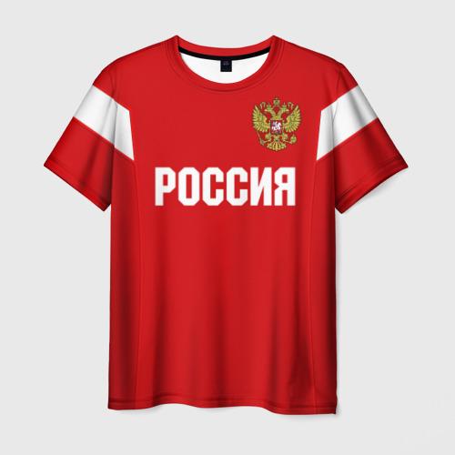 Мужская футболка 3D Сборная России