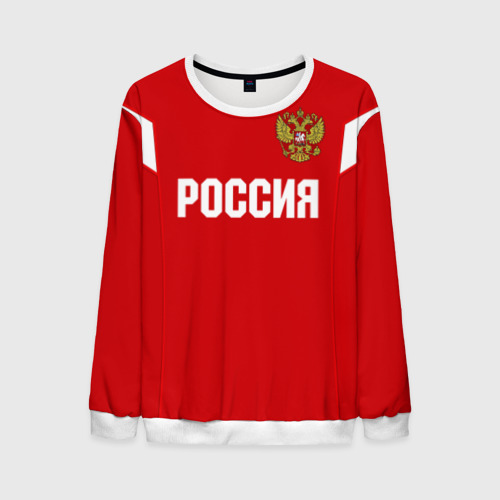 Мужской свитшот 3D Сборная России