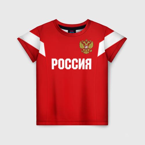 Детская футболка 3D Сборная России