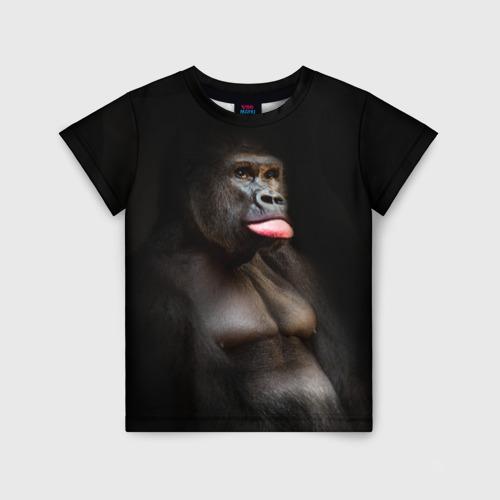 Детская футболка 3D Горилла