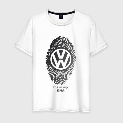 Мужская футболка хлопок Volkswagen it's in my DNA