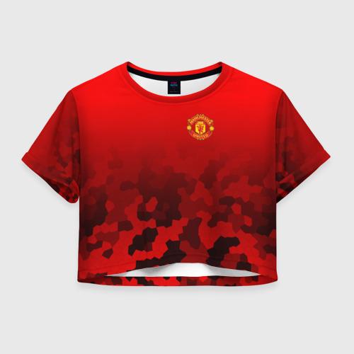 Женская футболка Crop-top 3D F.C.M.U SPORT