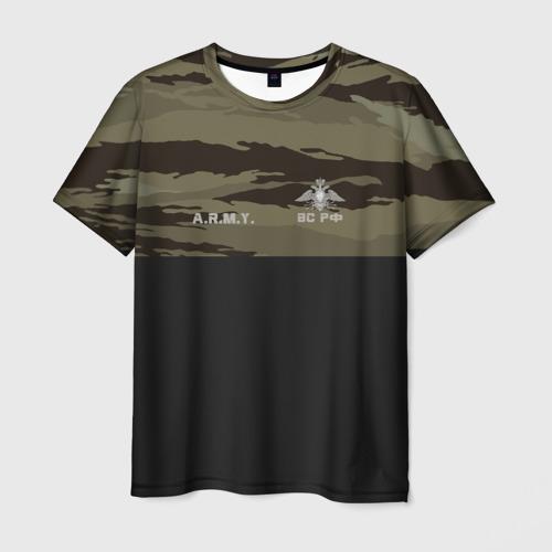 Мужская футболка 3D Войска связи
