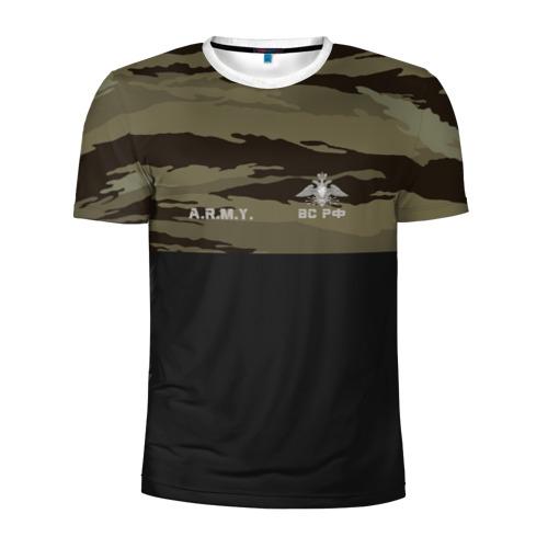 Мужская футболка 3D спортивная Войска связи