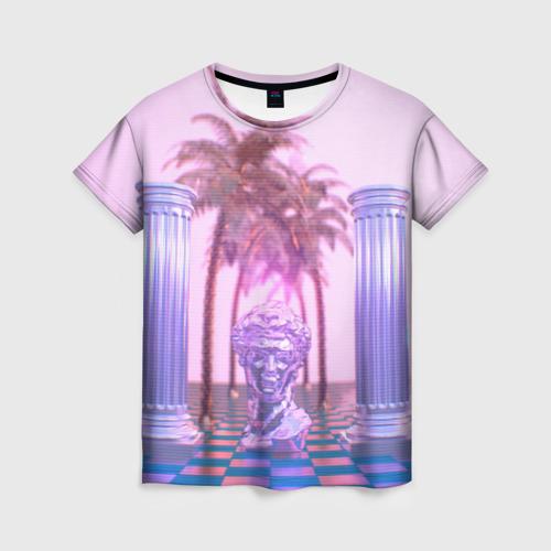 Женская футболка 3D ART
