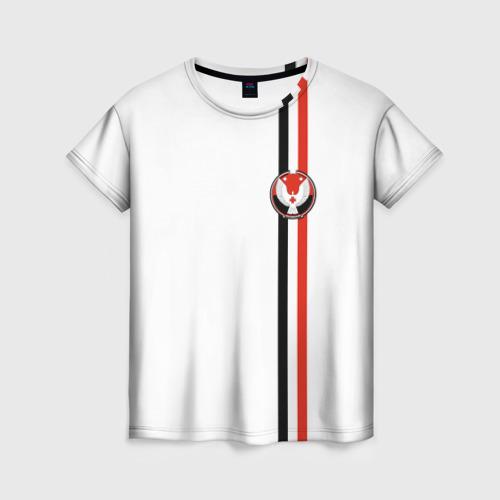 Женская футболка 3D Удмуртская республика