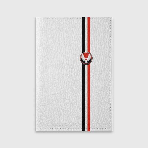 Обложка для паспорта матовая кожа Удмуртская республика