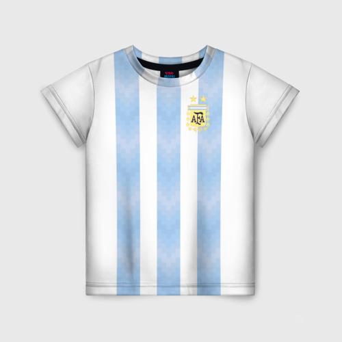 Детская футболка 3D Сборная Аргентины