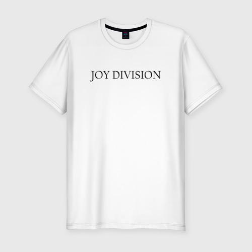 Мужская футболка хлопок Slim Joy Division