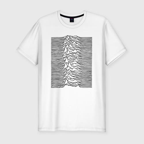 Мужская футболка хлопок Slim Unknown Pleasures