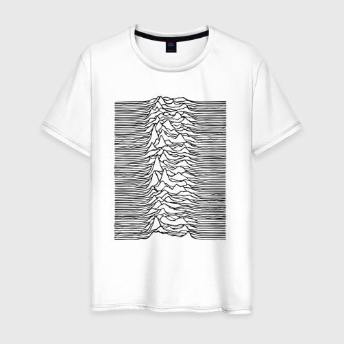 Мужская футболка хлопок Unknown Pleasures