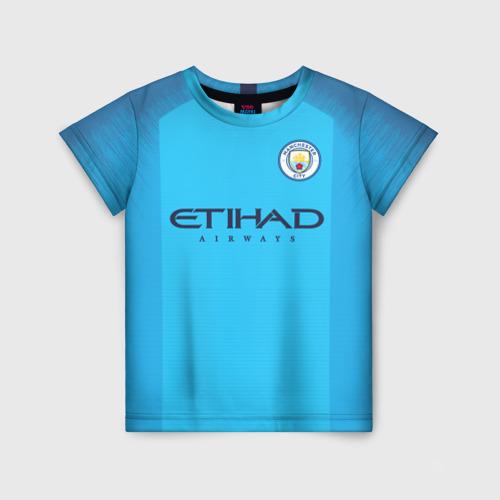 Детская футболка 3D Man. City 18-19