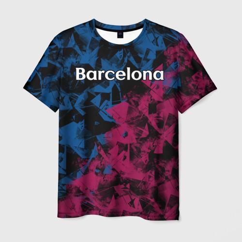 Мужская футболка 3D ФК Барселона