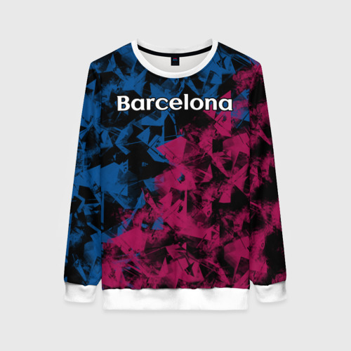 Женский свитшот 3D ФК Барселона