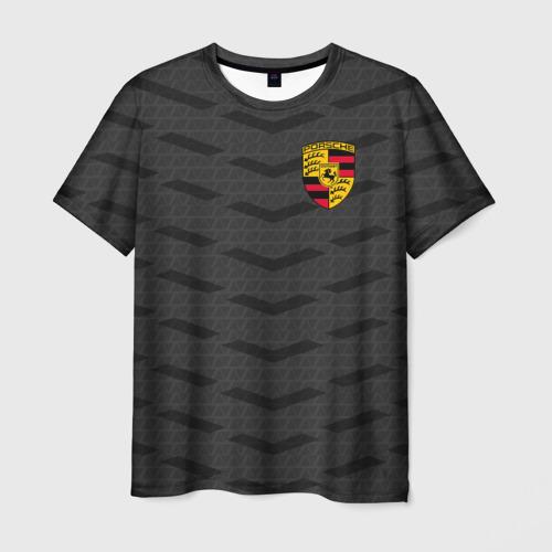 Мужская футболка 3D PORSCHE SPORT