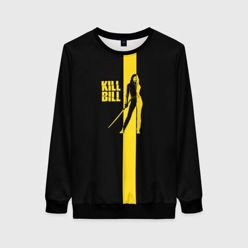 Женский свитшот 3D Kill Bill