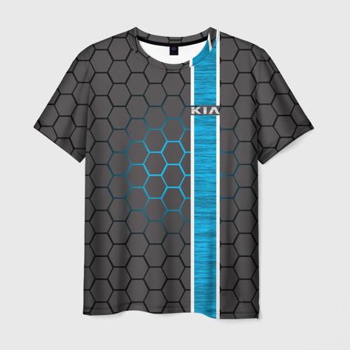 Мужская футболка 3D Kia