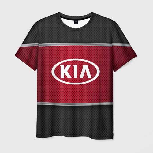 Мужская футболка 3D KIA SPORT