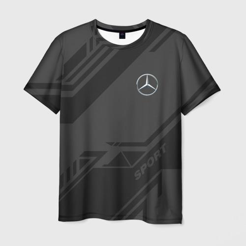 Мужская футболка 3D MERCEDES SPORT