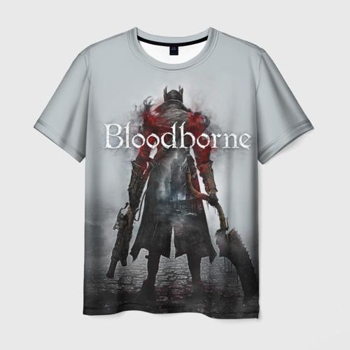 Мужская футболка 3D Bloodborne