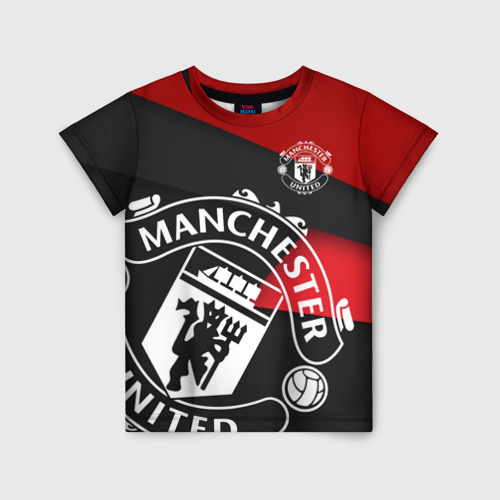 Детская футболка 3D Манчестер новый