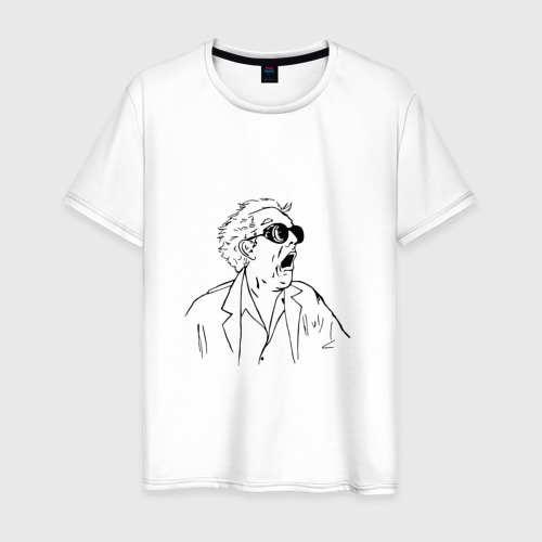 Мужская футболка хлопок Док