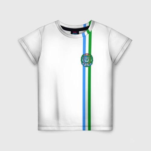 Детская футболка 3D Ханты-Мансийский округ