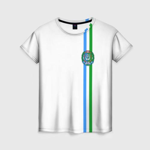 Женская футболка 3D Ханты-Мансийский округ