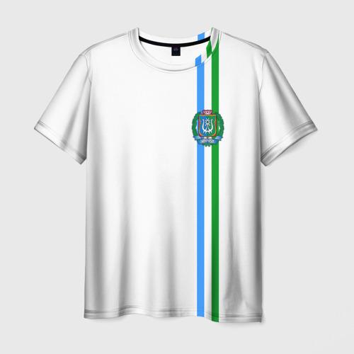 Мужская футболка 3D Ханты-Мансийский округ