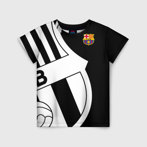 Детская футболка 3D Barcelona Exclusive