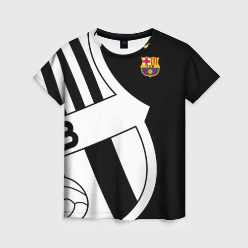 Женская футболка 3D Barcelona Exclusive